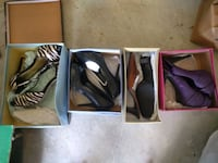 Womens shoes (small lot) Killeen, 76549