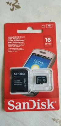 black SanDisk micro-SD card with adapter pack Regina, S4N 1T7