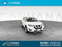 2017 Nissan Rogue hatchback S Sport Utility 4D White Brentwood