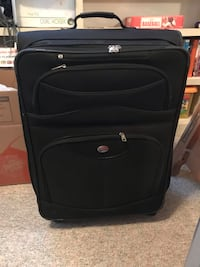 "Black suitcase. 23"" x 18"" - good condition Sykesville, 21784"