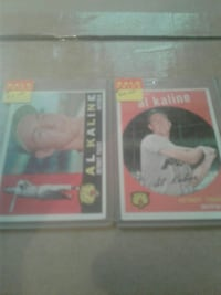 two assorted trading cards Hillman, 49746