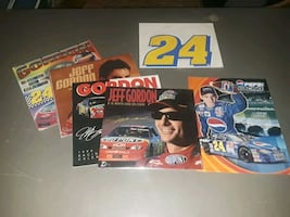 Jeff Gordon calendars, poster and magnet $10 firm