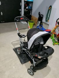 Sit and stand double stroller Laval, H7R 4E4
