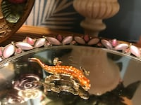 Cute! Adorable! Vintage Lizard Pin Gainesville, 20155