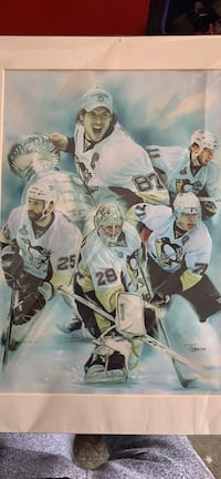 Pittsburgh Penguins painting