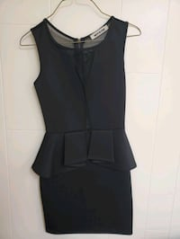 Mystic Black Mesh Dress Vancouver, V6P