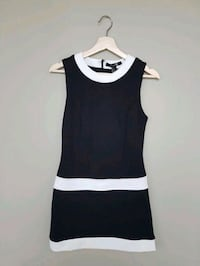 F21 Navy + White Dress Toronto, M5B