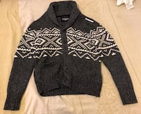 cable knit cardigan Toronto, M6M