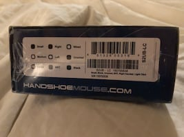 Hand shoe wireless mouse