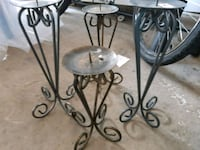 4 candle holders Pickering, L1V 6Z8