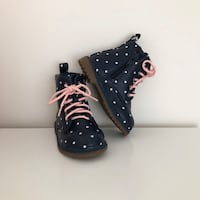 Old Navy toddler polka dot boots size 6 Mississauga, L5M 6C6