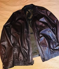 bruno magli italian leather jacket for men Orlando
