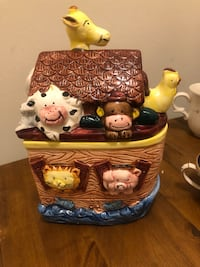 New Noah's Ark Canister Cookie Sugar Jar Randallstown, 21133