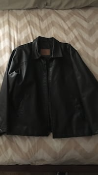 black leather zip-up jacket San Diego, 92126