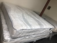 white and gray bed mattress Baltimore, 21231