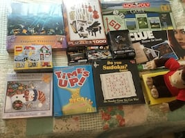 New Toys, Board Games and Puzzles, Great Gift! See list for prices