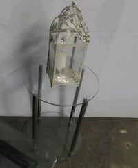 small round glass top table Sarnia, N7T 2S1