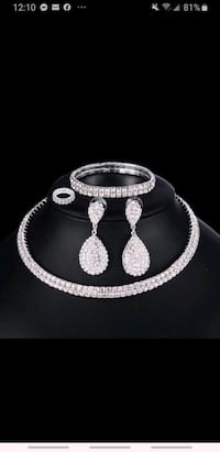 NEW luxuary jewelery set