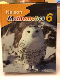 Nelson Mathematics 6 Textbook Markham, L3P 6S2