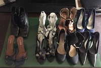 Women's assorted pairs of shoes Edmonton, T5C 2V2