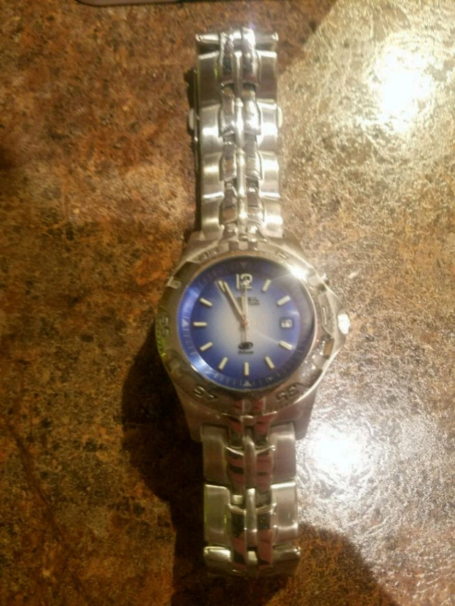 Photo Mens Fossil Blue watch