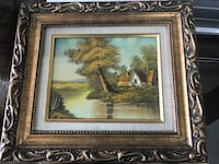 Old Picture Frame w/Oil Painting  Pomona, 91767