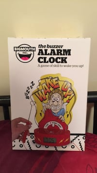 the buzzer alarm clock  Brampton, L6V 4G1