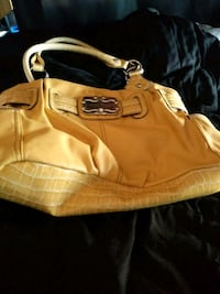 yellow and black leather shoulder bag Pocatello, 83201