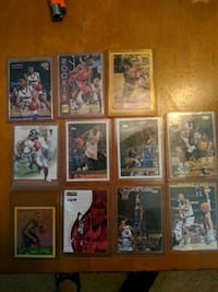 Assortment of rookie cards Greer, 29650