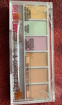 Hard candy sheer envy conceal and correct palette