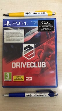 Driveclub sony ps4 oyun