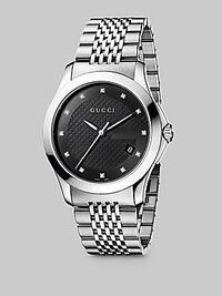 Men's Gucci diamond watch in stainless steel  Mississauga, L5M