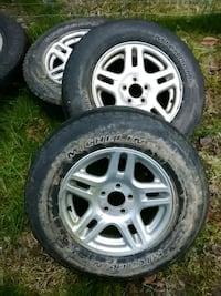 3 Ford explorer rims with tire Pequea, 17565