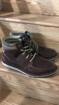 Sperry topsider brown leather boots size 9.5 Daly City, 94015