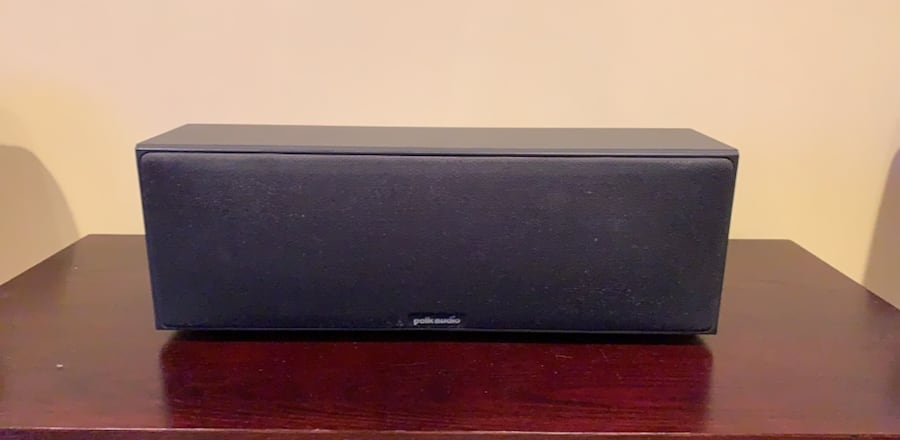 Polk Audio center speaker e243fa0c-8880-4da5-8356-5f5cfc5ee887