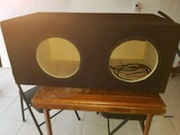 Subwoofer box for 12s Plano, 75023