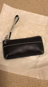 Leather Wristlet Purse (Black) Milpitas, 95035