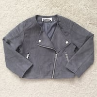 H&M toddler girl's suede moto jacket size 2-3- New, never worn Mississauga, L5M 0C5