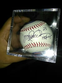 Ryan Sandberg signed baseball Chicago, 60632