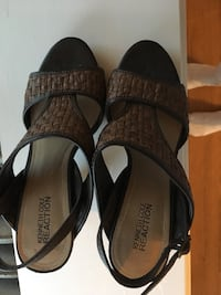 Kenneth Cole cork wedge slingback size 6.5 Lowell, 01851