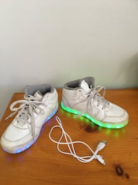 Skechers rechargeable light up running shoes-Size 2 TORONTO