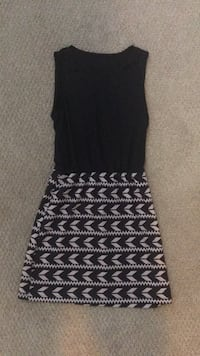 black and white sleeveless dress Arlington, 22201