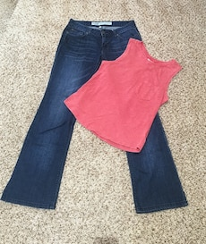 Jeans and tank set