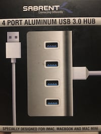 Sabrent Premium 4 Port Aluminum USB 3.0 Hub Falls Church, 22042