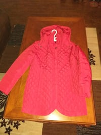 Women's red quilted jacket - Large Brampton, L7A 0P5