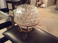 Crystal bowl with stand. Brampton, L6X 4C9