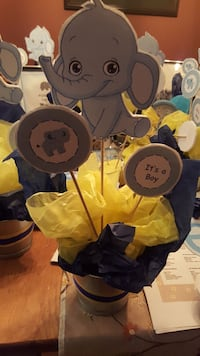 Baby boy elephant theme baby shower items Mississauga, L5N 8L3
