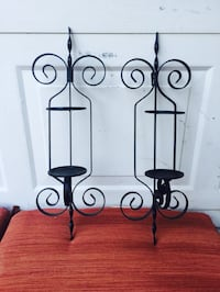 Pretty pair of iron sconces Bossier City, 71112