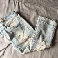 Ripped Capris siZe 0-1 Daly City, 94014