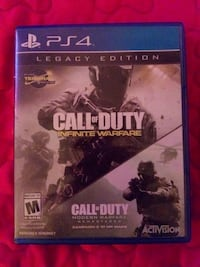 Call of duty infinite warfare ps4 game case Mission, 78572